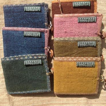 2018 モデル ヒマラヤンヘンプの2つ折財布