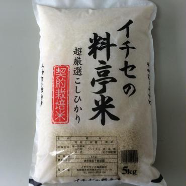 新米【お米のプロが選んだこだわりのお米】イチセの料亭米 5kg