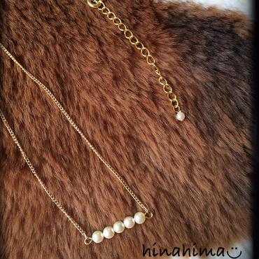 fine pearl necklace*