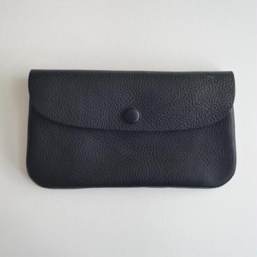 Ohama オイルレザーの長財布 ネロ