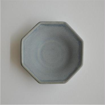 Awabi ware 四方豆皿 青マット
