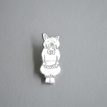 Anima uni ピンブローチ 『猫執事』 silver