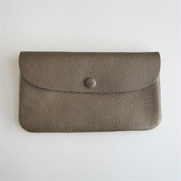 Ohama オイルレザーの長財布 オリーバ