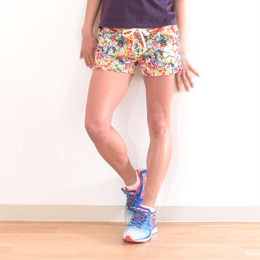 CLAP G-FLOWER SHORTS yellow Msize