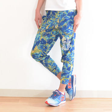 CLAP S-LEAF CROPPEDP PANTS blue 20%OFF