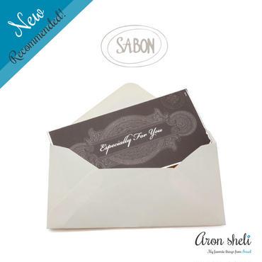 SABON  ギフトメッセージカード【全3種】