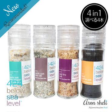 424 Below Sea Level Salt【選べる4本セット】