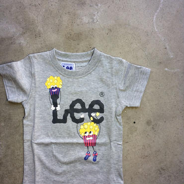 LEE×stompstamp×HIVELYコラボTシャツ グレー