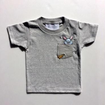 MOUSELADYS/MENSTシャツ gray
