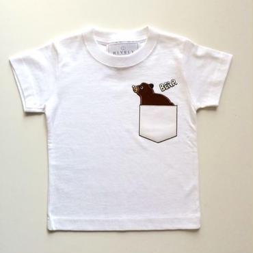 BEARKIDSTシャツ White