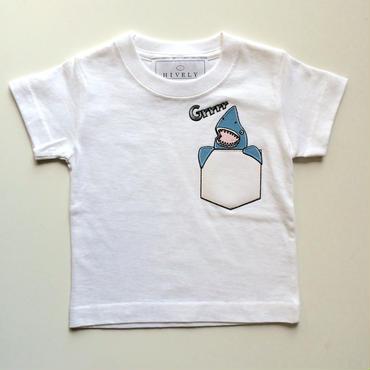 SHARK KIDSTシャツ White