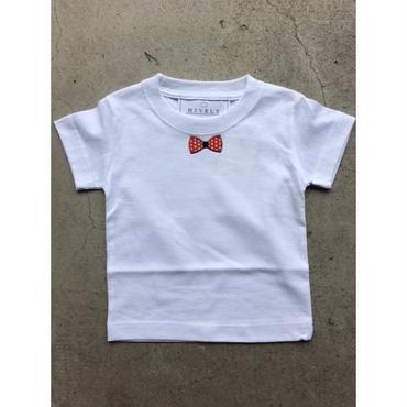 RED RIBON  TシャツWHITE /LADYS/MENS
