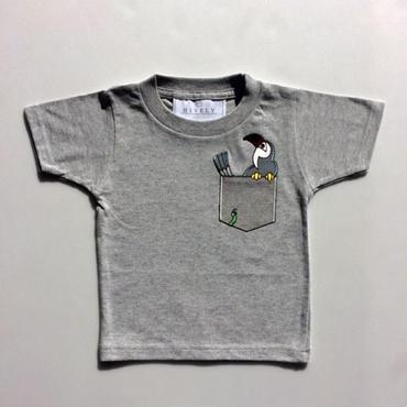 PARROT LADYS/MENSTシャツ gray