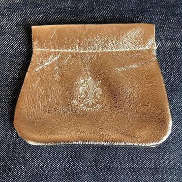 イタリアンレザー コインケース・ アクセサリーポーチ Italian leather coin case/Accessory porch
