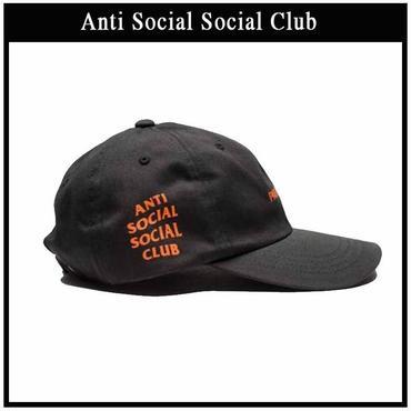 数量限定! Anti Social Social Club(アンチソーシャルソーシャルクラブ) キャップユニセックス帽子//並行輸入品 (調整可能, ブラック)