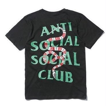 Anti Social Social Club(アンチソーシャルソーシャルクラブ)袖プリントロゴTシャツ男女兼用