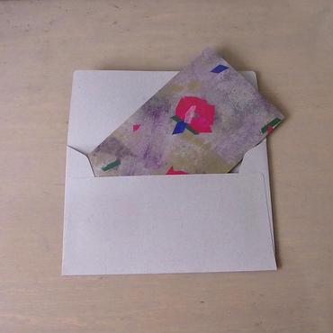 メッセージカード/flower