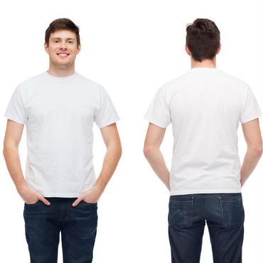 メンズ肌着 半袖丸首シャツ 白 綿100% 抗菌・防臭加工 2枚組 M~4L 大きいサイズまで