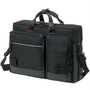 ブリーフケース バッグ 3WAY ビジネスバッグ リュック ブラック U23-55155