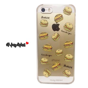 【iPhoneSE/5s/5/6s/6】】ハンバーガー