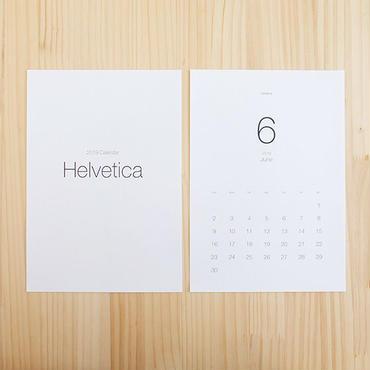 美しいフォントで綴るカレンダー2019[Helvetica]