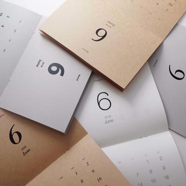 美しいフォントで綴るカレンダー2018[50冊セット]