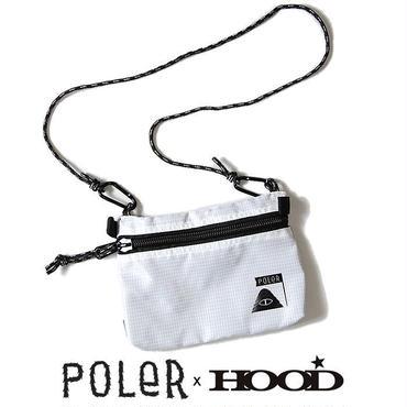 【HOOD別注商品】POLeR× HOOD STAFFABLE CAMP POUCH (WHT)