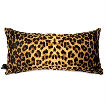 Leopard Cushion Bright yellow 50×20 import fabric