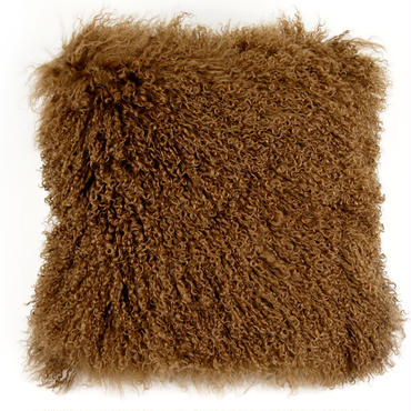 Mocha Tibet Lamb Cushion Cover 45×45