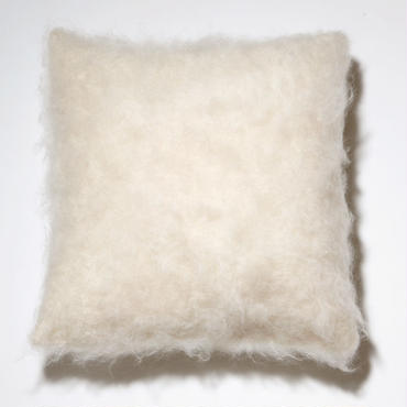 BALMUIR Ecru Kid Mohair Cushion Cover 50×50