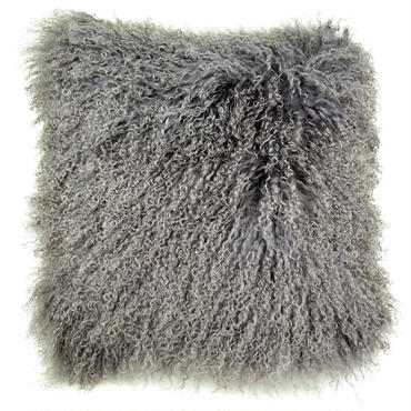 Gray Tibet Lamb Cushion Cover 45×45