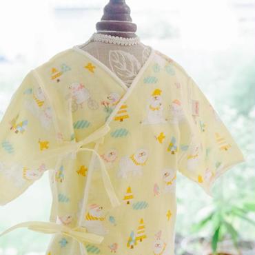 HowCute® シロクマちゃんダブルガーゼ低出生体重児肌着(コットに出てから1500g~)