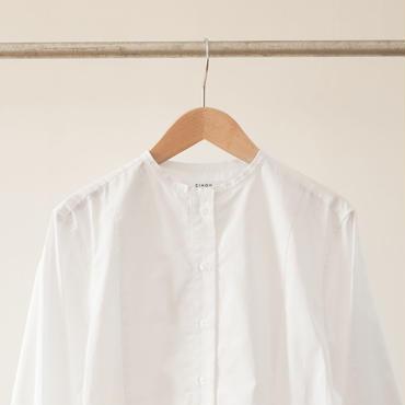 CINOH NO COLLAR SHIRT   チノ ノーカラーシャツ