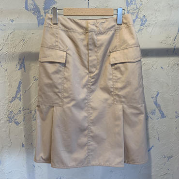 CINOH 19SSK071 CARGO SKIRT /  チノカーゴスカート