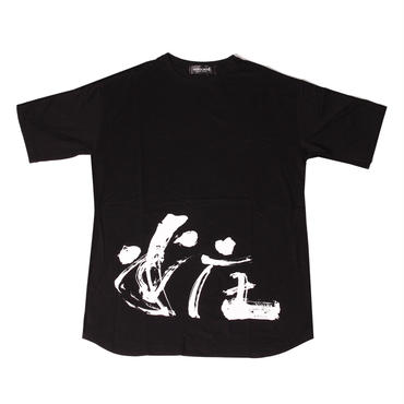 SHOU OVER TEE (BLK)