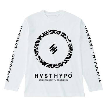 HARVEST x HYPOCRITE 【HVSTHYPO】LONGSLEEVE TEE (WHT)