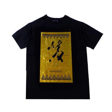 PREMIUM GOLD HYOURI TEE (BLK)