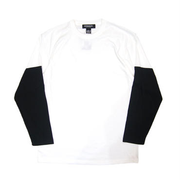 SLEEVECUT LONG TEE (WHT)