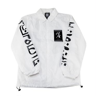 The HYOURI Coach Jacket (WHT)