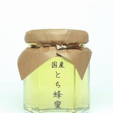 【予約商品】秋田県小坂産:天然国産とち蜂蜜125g/本
