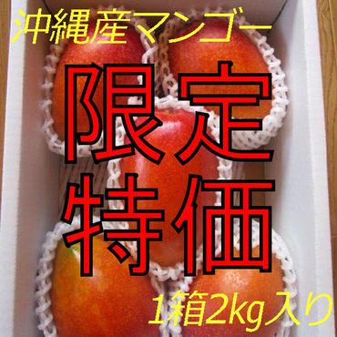【贈答用の秀品/4玉入り】【沖縄県名護産】国産完熟マンゴー2kg/箱