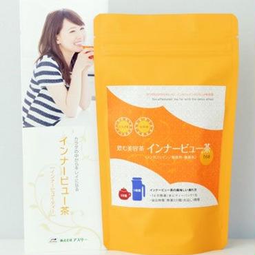 【無農薬】 熊本県産あさぎり町の花咲たもぎ茸と 杜仲茶のブレンドティー 「インナービュー茶」30gスタンド袋タイプ