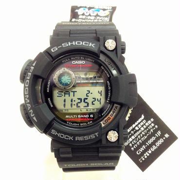 G-shockフロッグマン/GWF-1000-1JF ソーラー電波時計