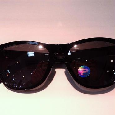 oakley/frogskins/oo9245-02/polished blakc/blackirid polar