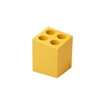 mini cube マットイエロー