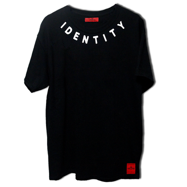 neck logo T shirt