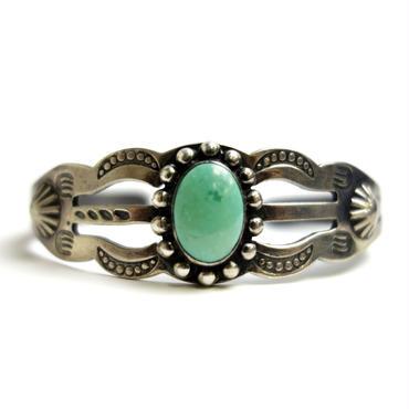 Turquoise Wavy Line Bracelet