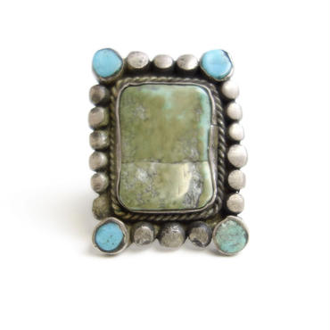 Turquoise Amulet Ring