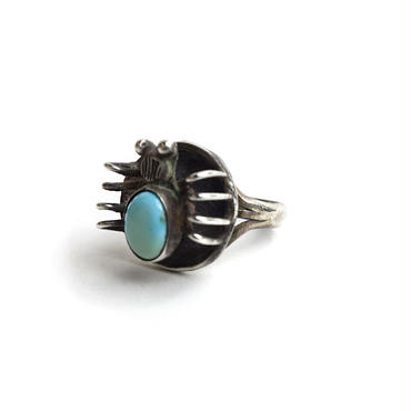 Spider Turquoise Ring