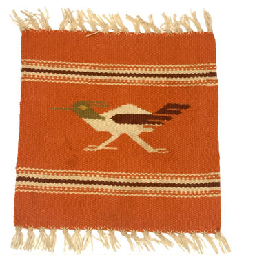 50's Road Runner Orange Rug